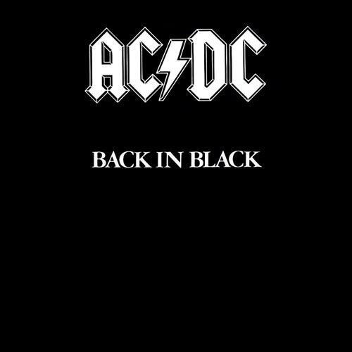 Acdc - Back In Black Album Art