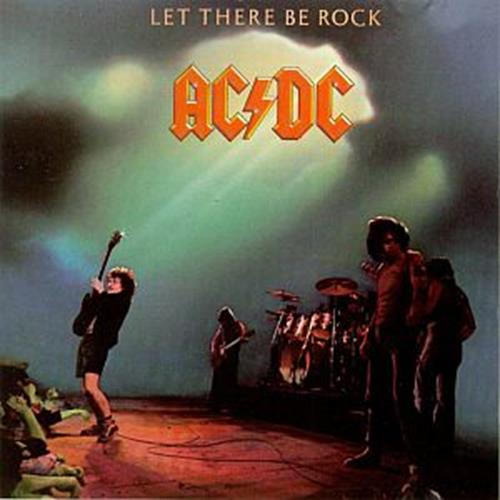 Acdc - Let There Be Rock Album Art
