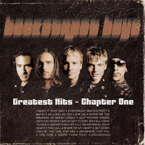Backstreet Boys - Greatest Hits Album Art