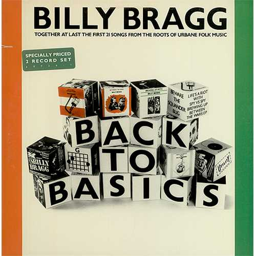 Billy Bragg - Back To Basics Album Art