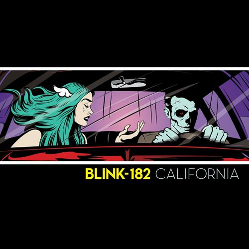 Blink-182 - California Disc 1 Album Art