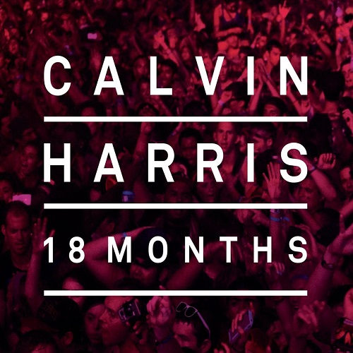 Calvin Harris - 18 Months Album Art