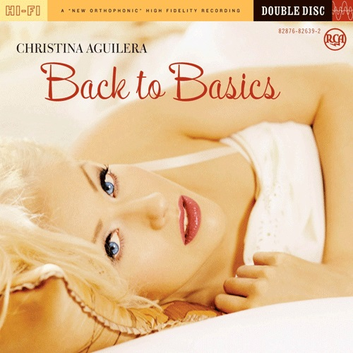 Christina Aguilera - Back To Basics Album Art
