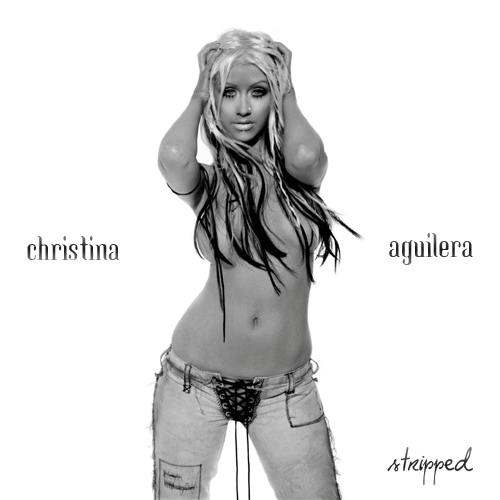 Christina Aguilera - Stripped Album Art