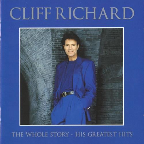 Cliff Richard - The Whole Story His Greatest Hits Disc 1 Album Art