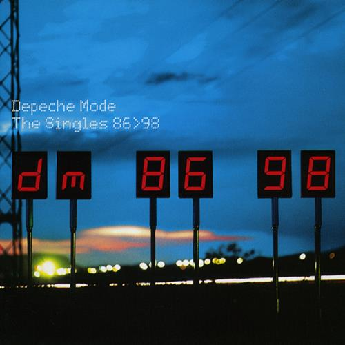 Depeche Mode - The Singles 86-98 Disc 1 Album Art
