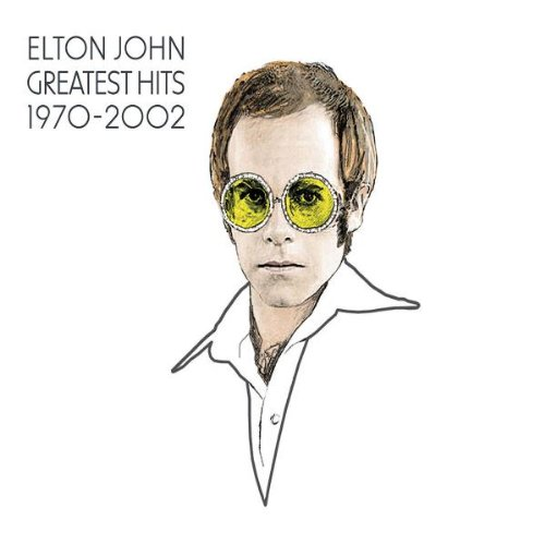 Elton John - Greatest Hits 1970-2002 Disc 1 Album Art