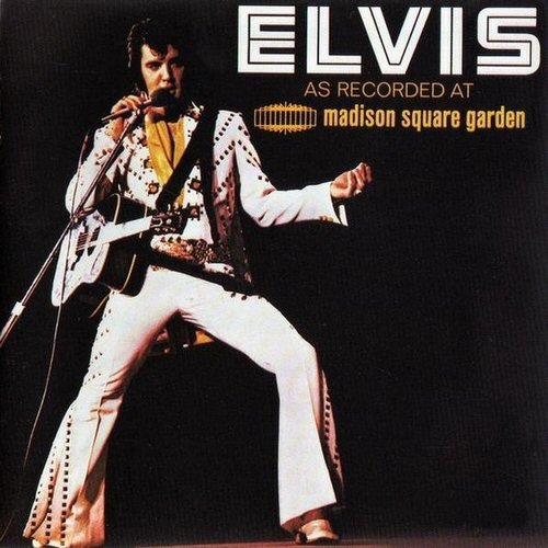 Elvis Presley - Live At Madison Square Garden Album Art