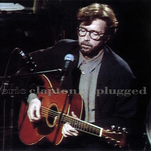 Eric Clapton - Unplugged Album Art