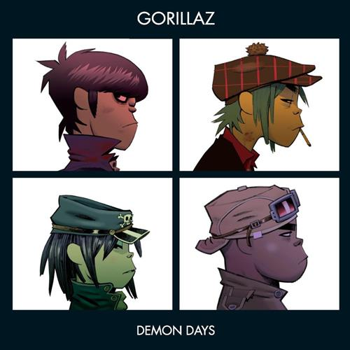 Gorillaz - Demon Days Album Art