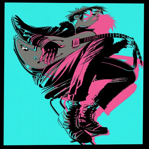 Gorillaz - The Now Now Album Art