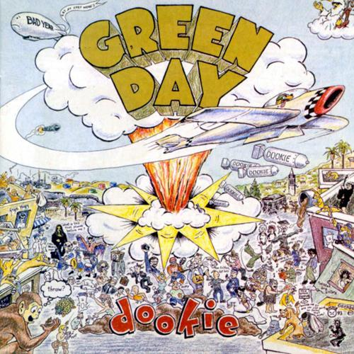 Green Day - Dookie Album Art