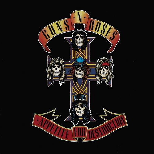 Guns N Roses - Appetite For Destruction Album Art