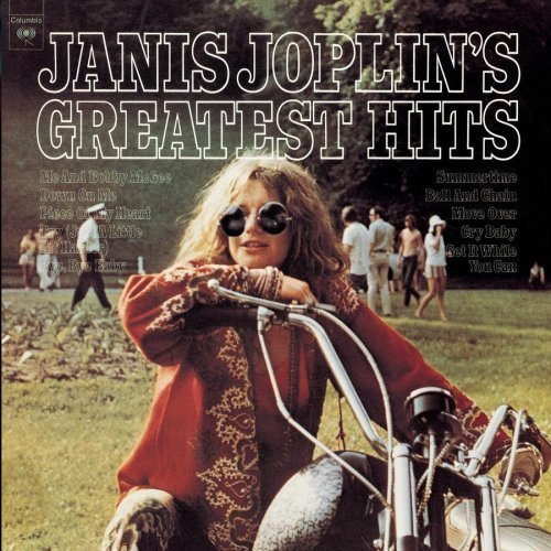 Janis Joplin - Greatest Hits Album Art