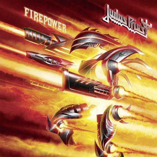 Judas Priest - Firepower Album Art