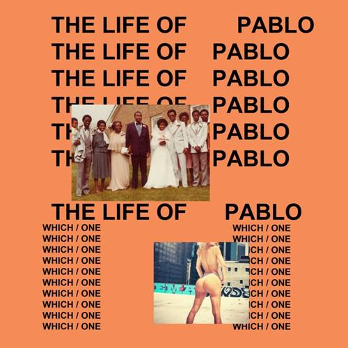 Kanye West - The Life Of Pablo Album Art
