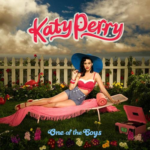 Katy Perry - One Of The Boys Album Art