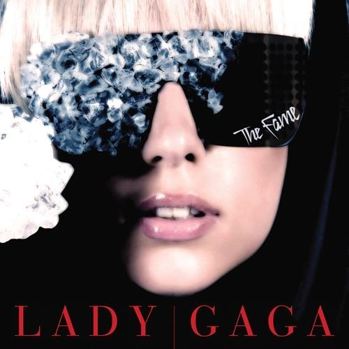 Lady Gaga - The Fame Album Art