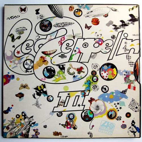 Led Zeppelin - Led Zeppelin III Album Art