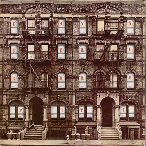 Led Zeppelin - Physical Graffiti Disc 2 Album Art