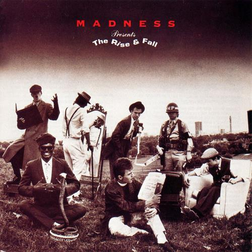 Madness - The Rise And Fall Album Art