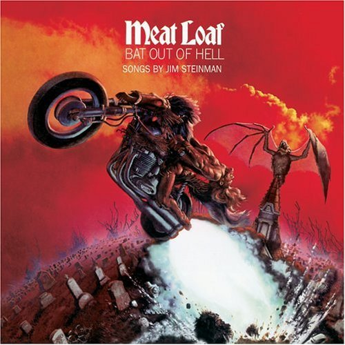 Meat Loaf - Bat Out Of Hell Album Art