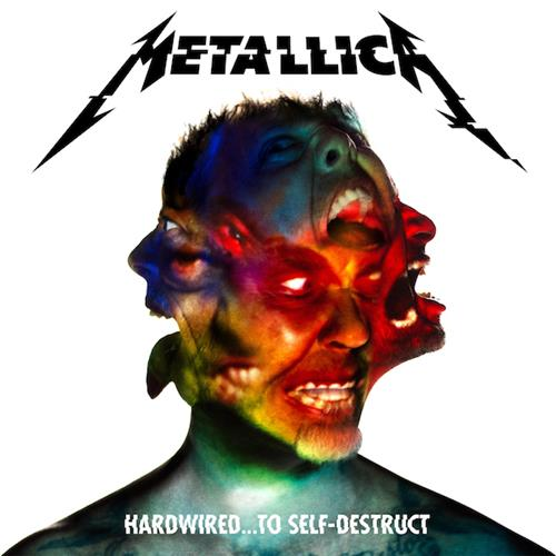 Metallica - Hardwired to Self-Destruct Disc 1 Album Art