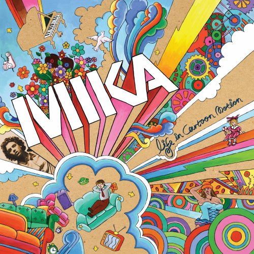 Mika - Life In Cartoon Motion Album Art