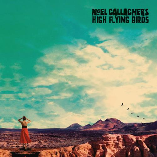 Noel Gallaghers High Flying Birds - Who Built The Moon Album Art