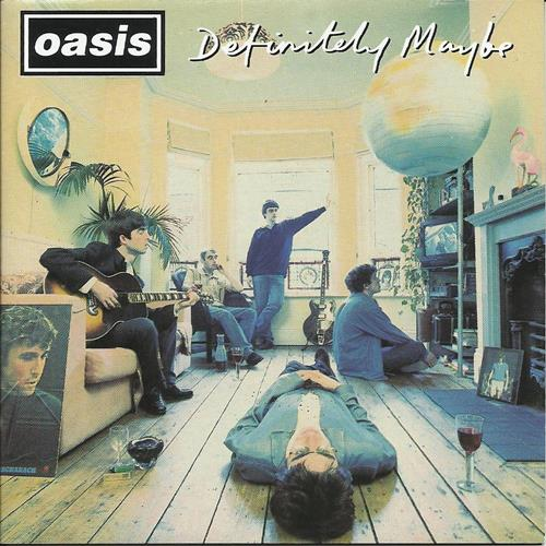 Oasis - Definitely Maybe Album Art