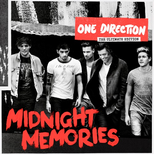 One Direction - Midnight Memories Album Art