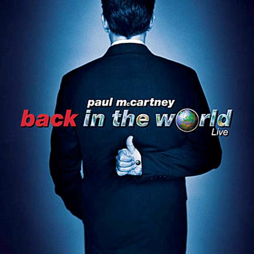 Paul Mccartney - Back In The World Album Art
