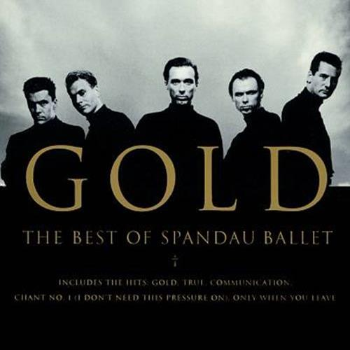 Spandau Ballet - Gold The Best Of Spandau Ballet Album Art