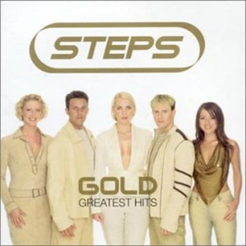 Steps - Gold Greatest Hits Album Art