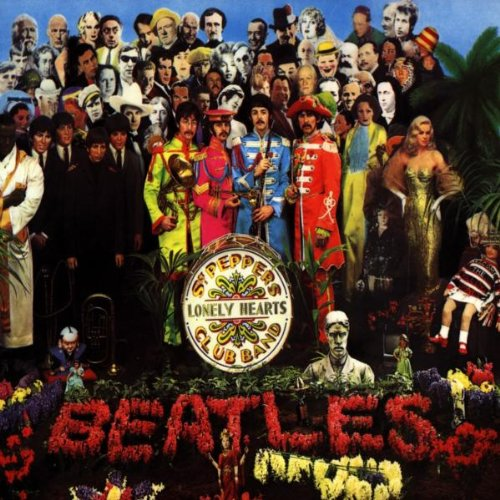 The Beatles - Sgt. Peppers Lonely Hearts Club Band Album Art