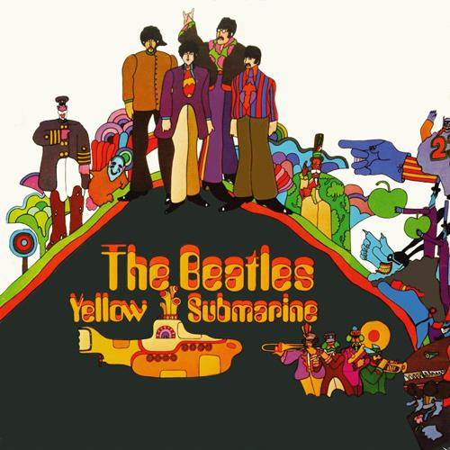 The Beatles - Yellow Submarine Album Art