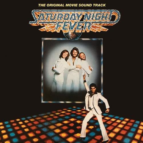 The Bee Gees - Saturday Night Fever Ost Album Art