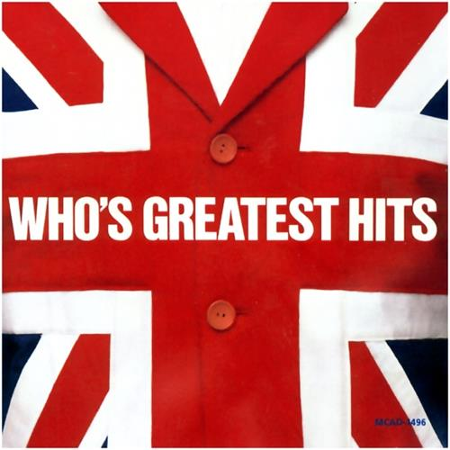 The Who - Whos Greatest Hits Album Art