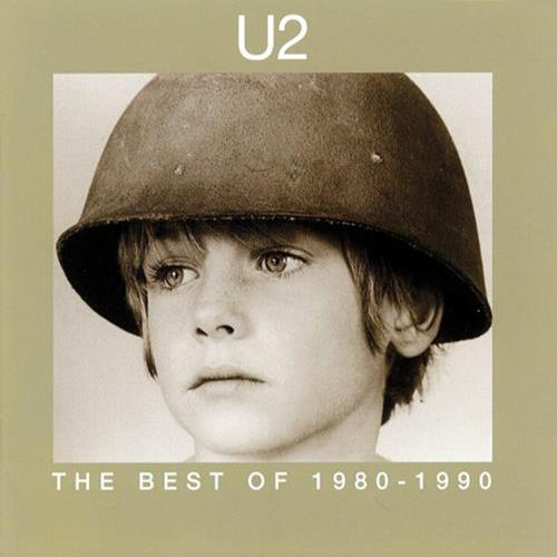 U2 - The Best Of 1980-1990 Album Art