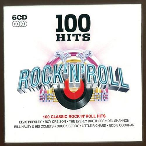 Various Artists - 100 Hits Rock N Roll Disc 5 Album Art