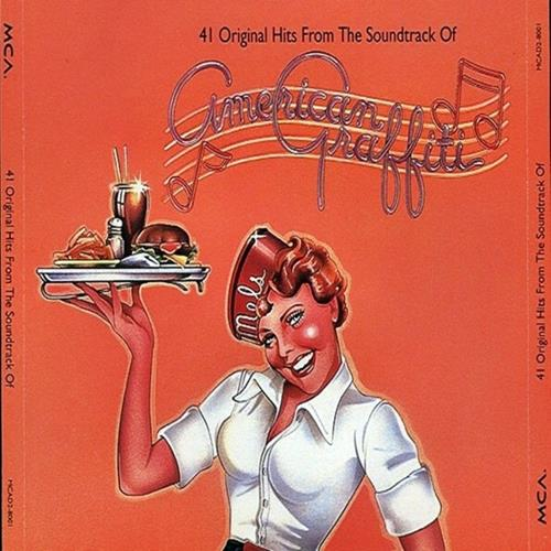 Various Artists - American Graffiti Ost Disc 1 Album Art