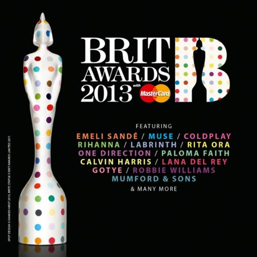 Various Artists - Brit Awards 2013 Disc 1 Album Art