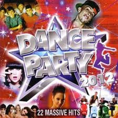 Various Artists - Dance Party 2012 Album Art