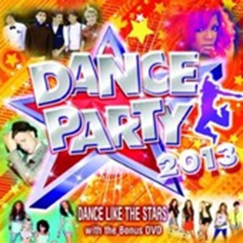 Various Artists - Dance Party 2013 Album Art
