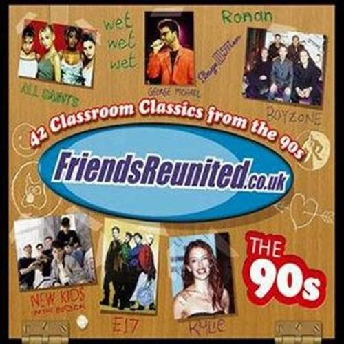 Various Artists - Friends Reunited The 90s Disc 2 Album Art