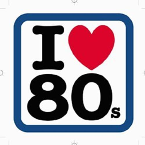 Various Artists - I Love 80s Disc 1 Album Art