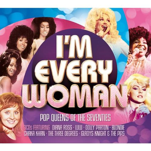 Various Artists - Im Every Woman Pop Queens Of The Seventies Disc 1 Album Art