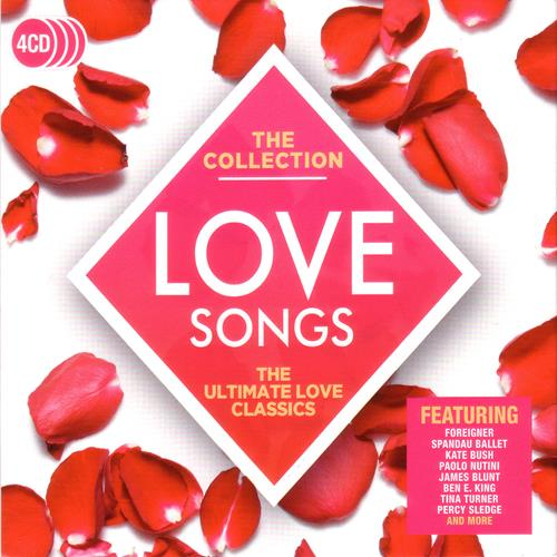 Various Artists - Love Songs The Collection (2017) Disc 1 Album Art