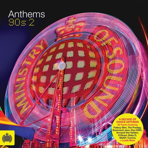 Various Artists - Ministry Of Sound 90s Anthems Disc 2 Album Art