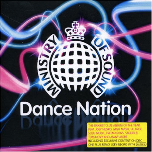 Various Artists - Ministry Of Sound Dance Nation Disc 1 Album Art